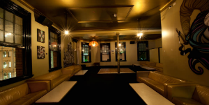 Function room in Forbes hotel sydney. Bucks party venue in Sydneyby Glamor Strippers.